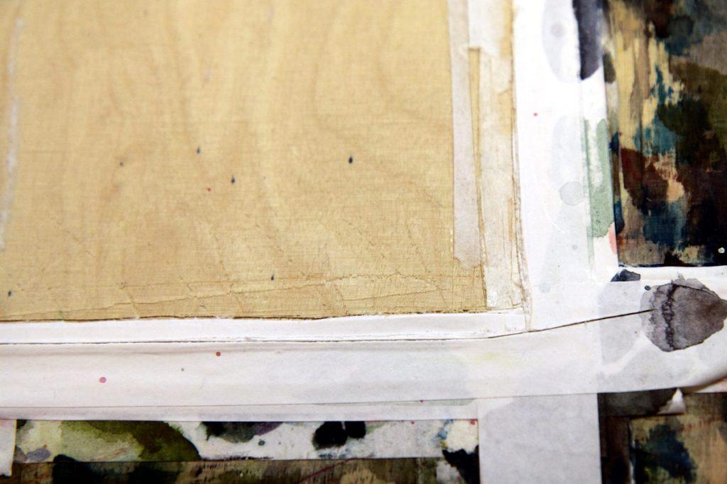 vaneripohja akvarellimaalaukseen